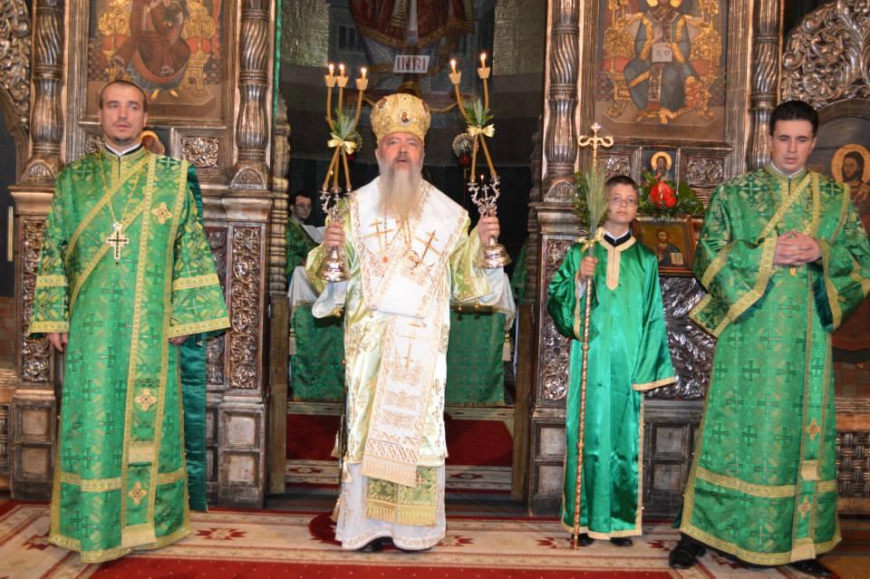Sărbătoarea Rusaliilor la Catedrala din Cluj