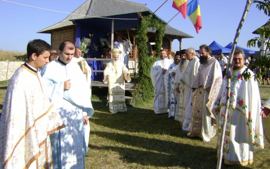 Mănăstirea de la Petreștii de Sus din judetul Cluj și-a sărbătorit hramul
