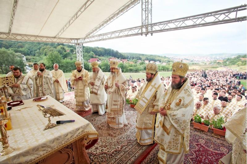Sfințirea paraclisului de la Centrul Eparhial din Zalău