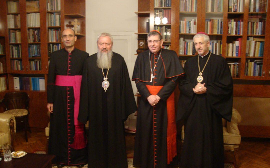 Înaltpreasfințitul Arhiepiscop și Mitropolit Andrei vizitat de Cardinalul Kurt Koch