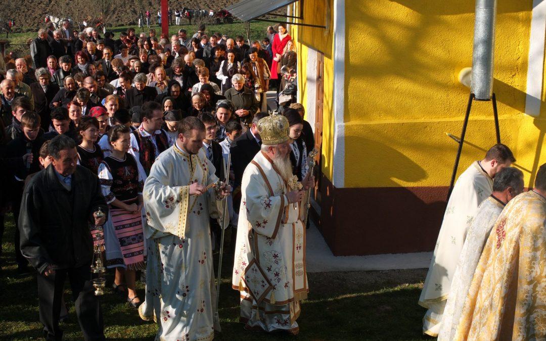 Resfințirea Bisericii din filia Sântejude Vale, protopopiatul Gherla