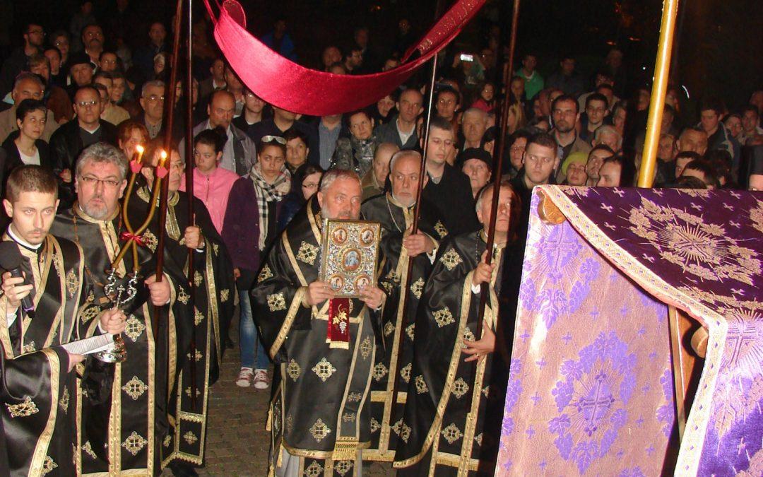 Prohodul Domnului în Catedrala Mitropolitană din Cluj