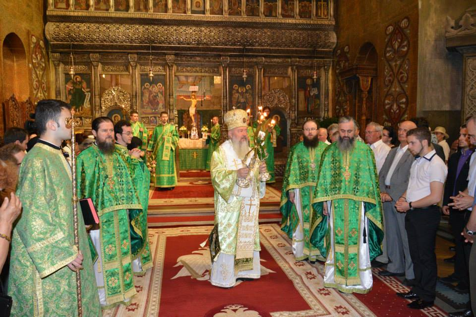 Slujiri Arhierești în Cluj-Napoca, de sărbătoarea Rusaliilor