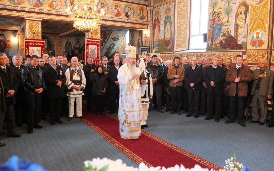 Mitropolitul Andrei al Clujului, prezent în parohia bistrițeană Budești