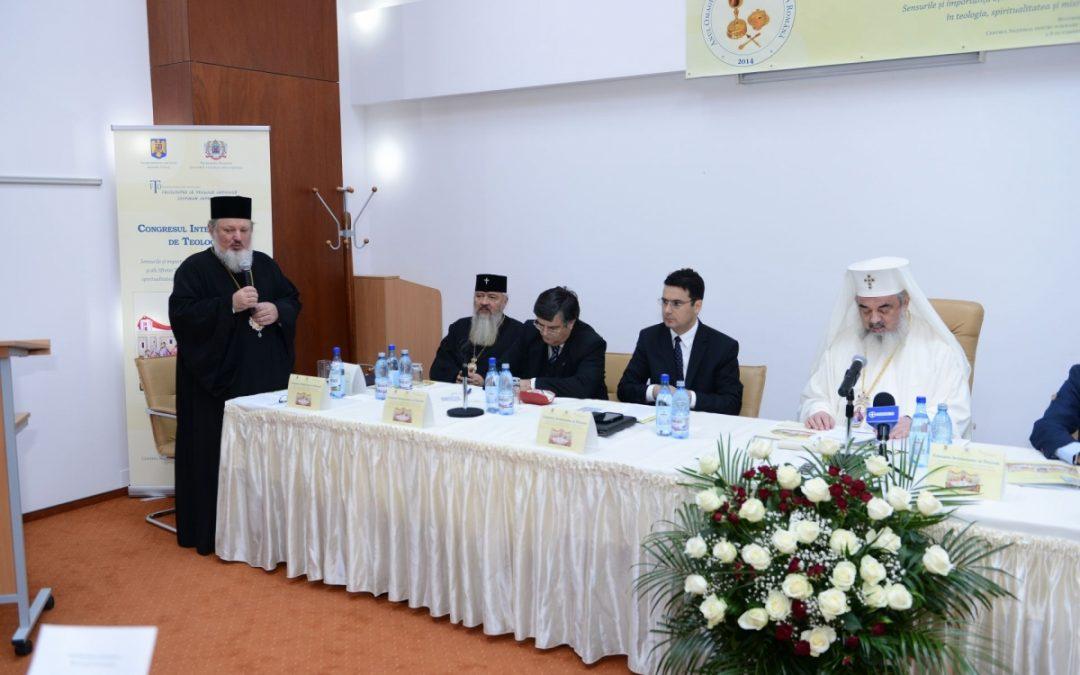 IPS Andrei, la Congresul Internațional de Teologie de la București