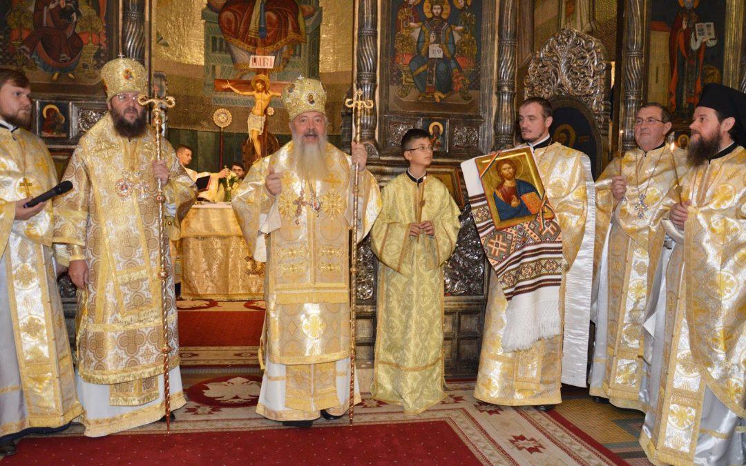 Liturghie Arhierească oficiată de ÎPS Părinte Andrei și ÎPS Antonie Pakanici