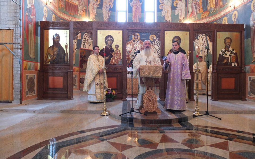 Hramul Facultății de Teologie Ortodoxă din Cluj, la sărbătoarea Sfântului Nicolae