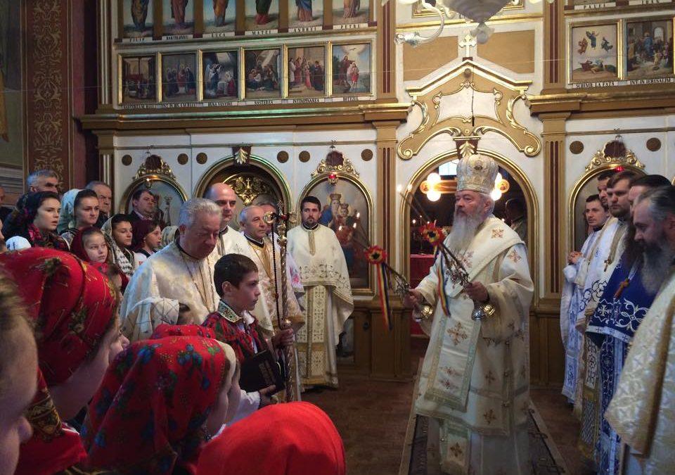 Prezența Înaltpreasfințitului Părinte Andrei, în Parohia Rebra