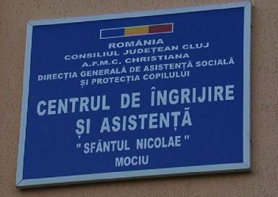 Centrul de Îngrijire şi Asistenţă Sfântul Nicolae, Mociu