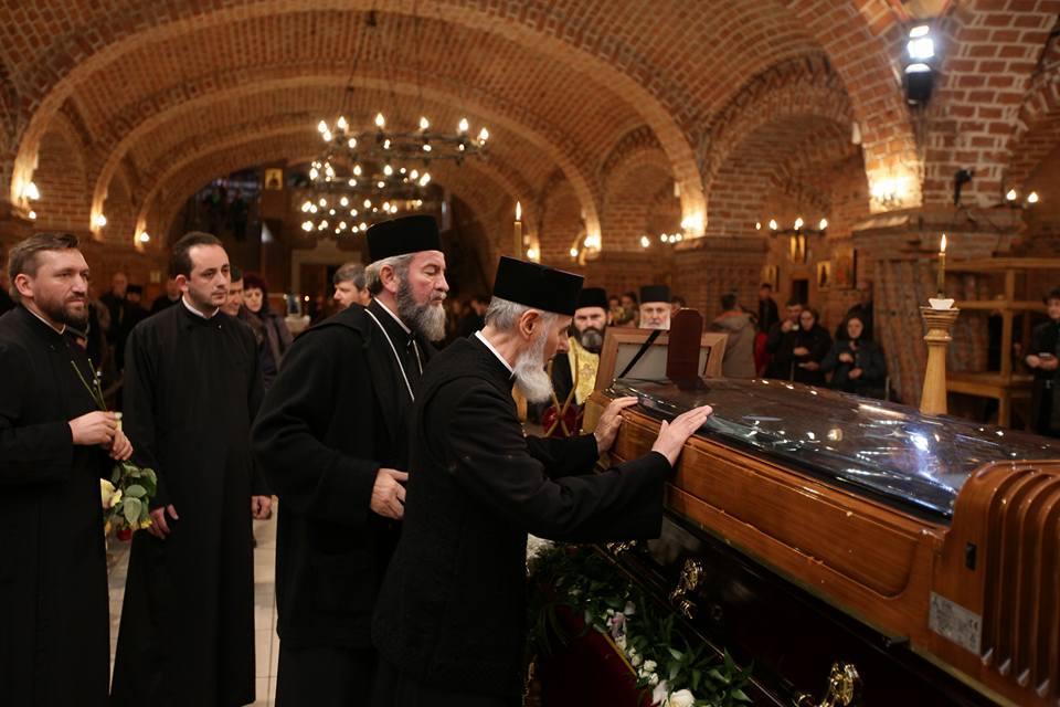 P.S. Vasile Someşanul s-a rugat pentru sufletul celui care în urmă cu 40 de ani l-a hirotonit preot