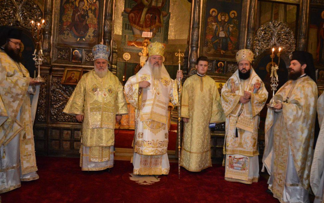 Duminica a 25-a după Rusalii,  în Catedrala Mitropolitană din Cluj-Napoca