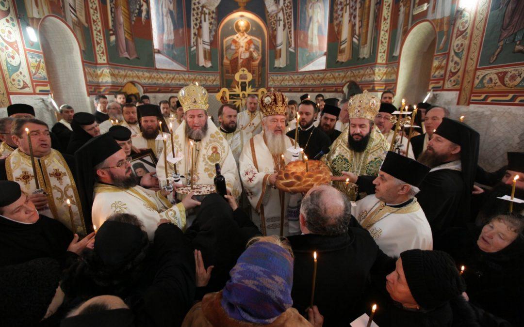 Slujba parastasului pentru ÎPS Justinian Chira