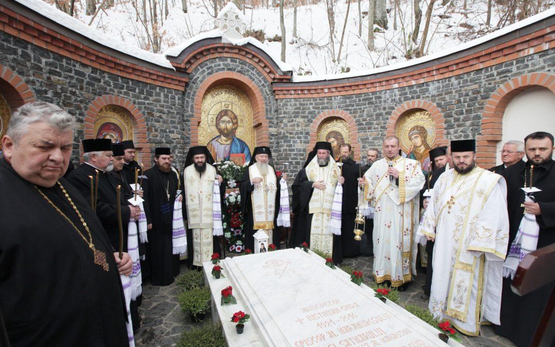 Slujba de pomenire la 40 de zile pentru Arhiepiscopul Iustinian