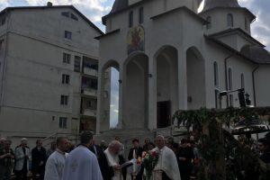 """Sfințirea Clopotelor pentru parohia """"Sfântul Apostol Andrei"""" din Dej"""
