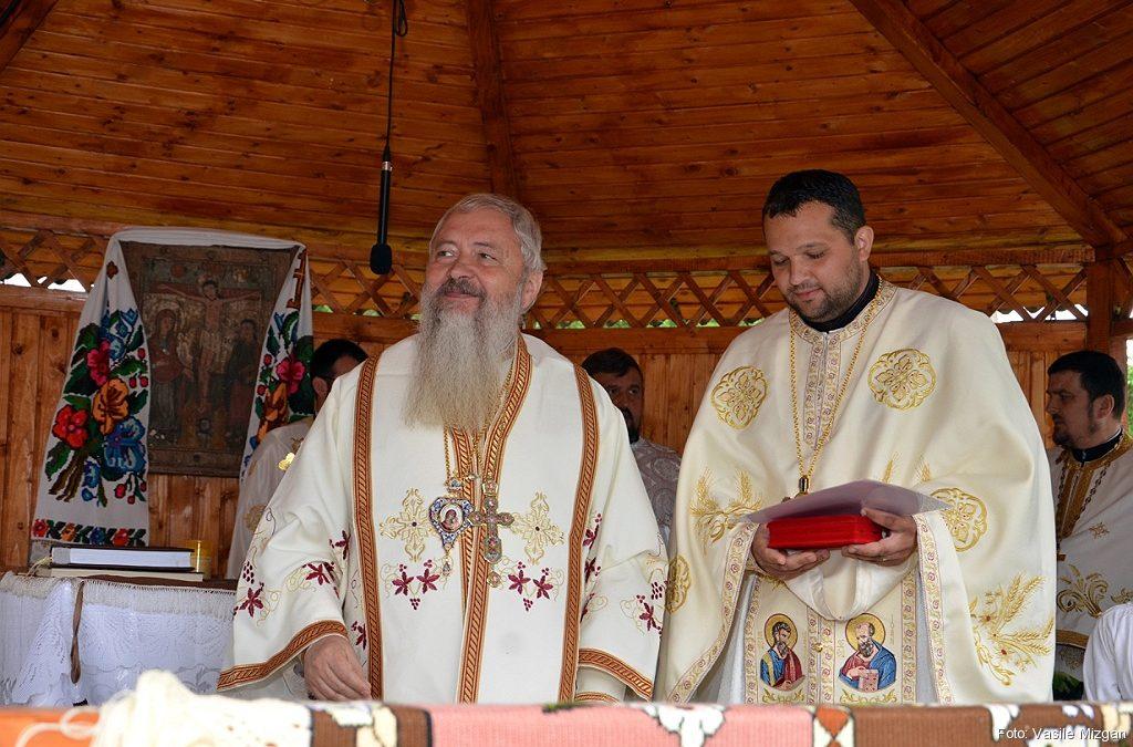 Mitropolitul Andrei în parohia Dumbrăvița, protopopiatul Beclean