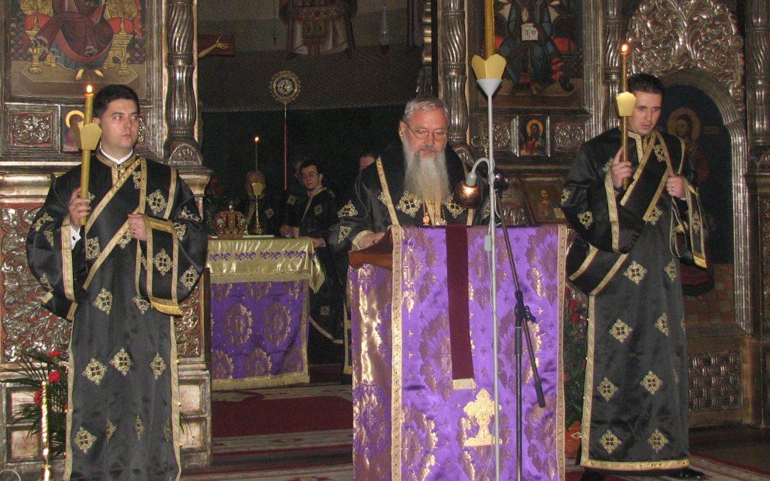 Slujba Mântuitoarelor Pătimiri, la Cluj