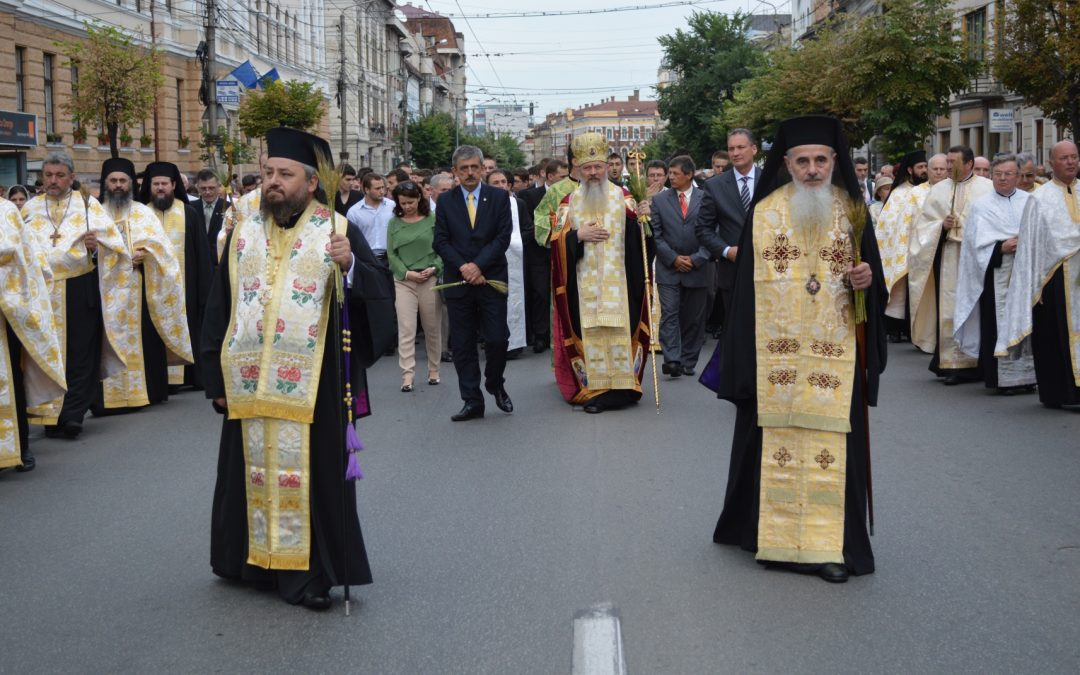 Procesiune de Rusalii la Cluj-Napoca