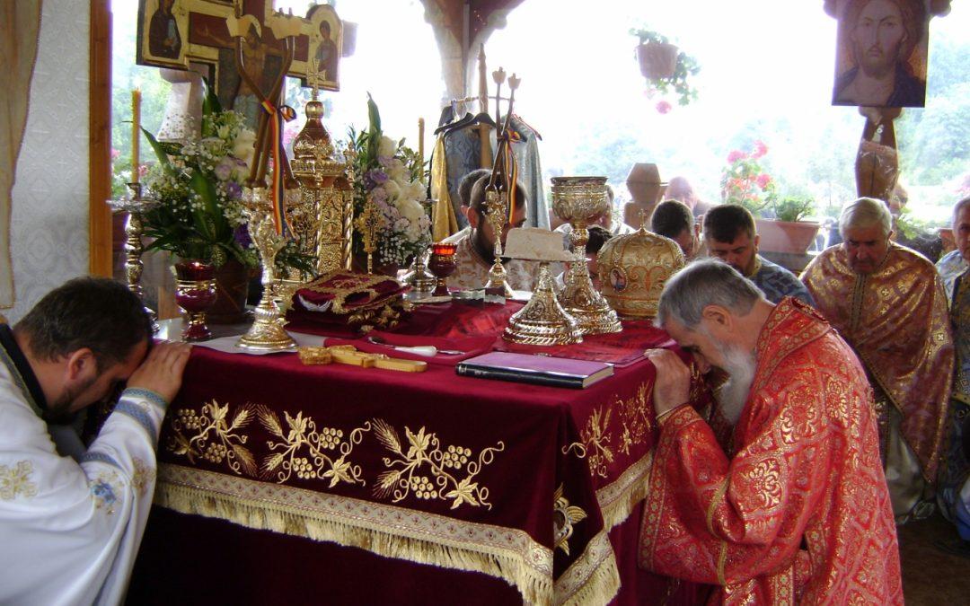PS Vasile Someșanul la hramul Mănăstirii Cășiel