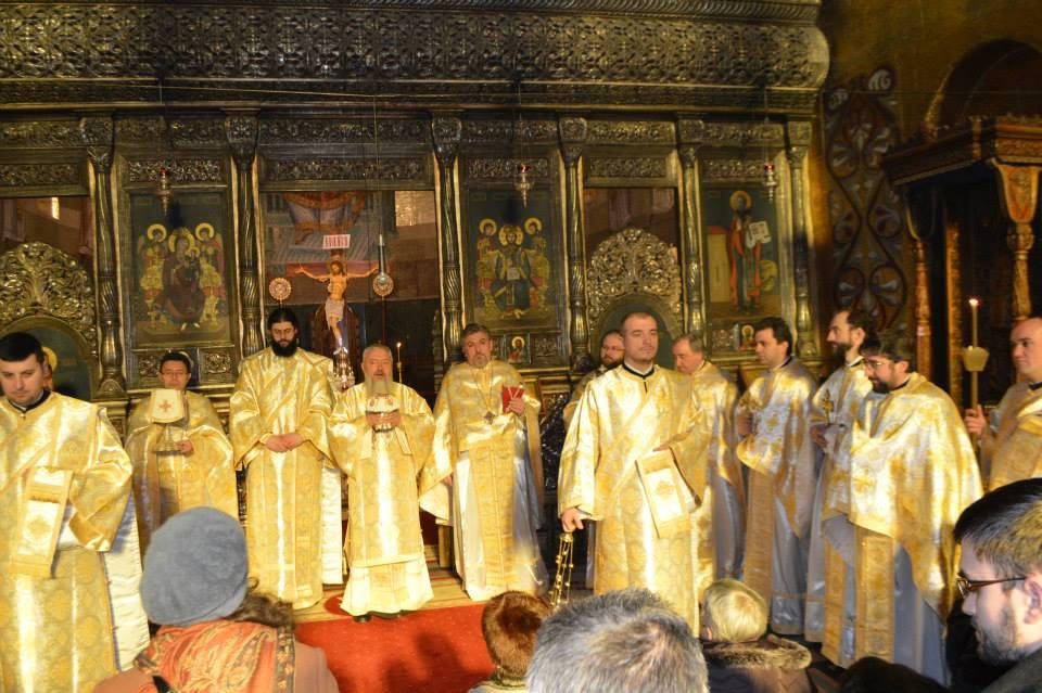 Hramul școlilor teologice ortodoxe clujene, de praznicul Sfinților Trei Ierarhi