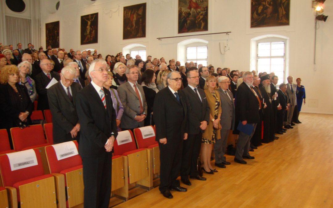ÎPS Andrei la întrunirea anuală a Academiei Europene de Ştiinţe şi Arte din Salzburg