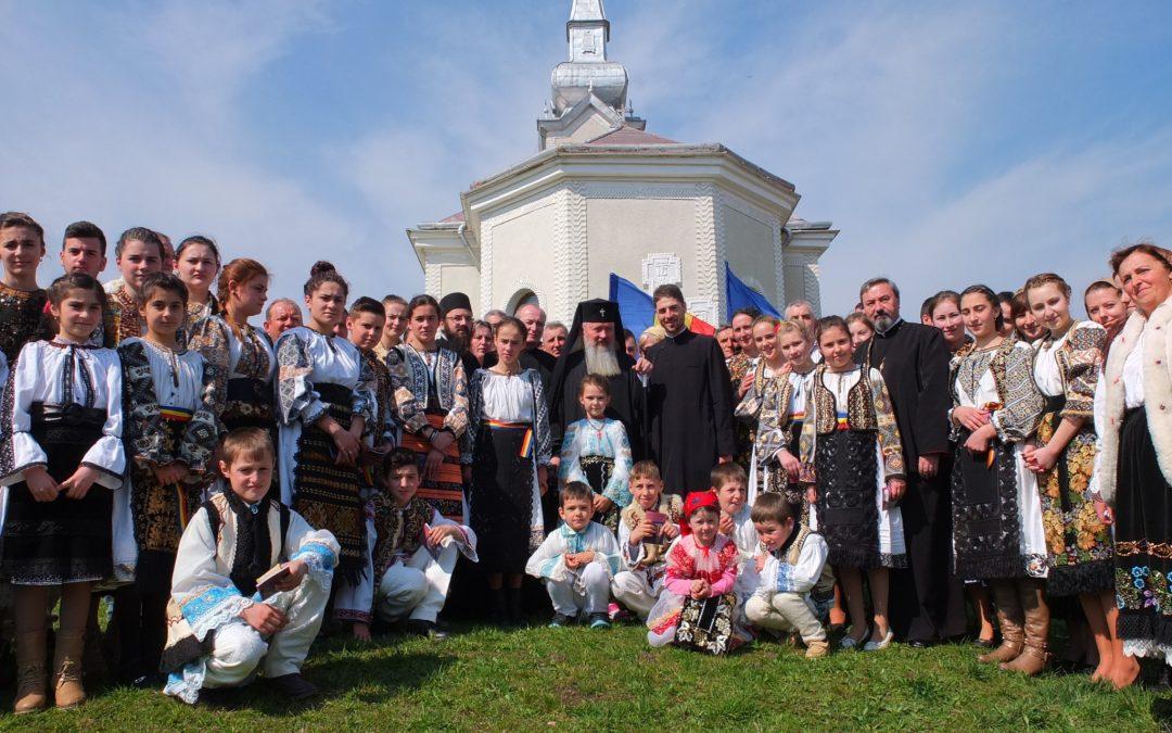 Prezență arhierească în localitatea bistrițeană Sântioana, în a treia Duminică din Postul Mare