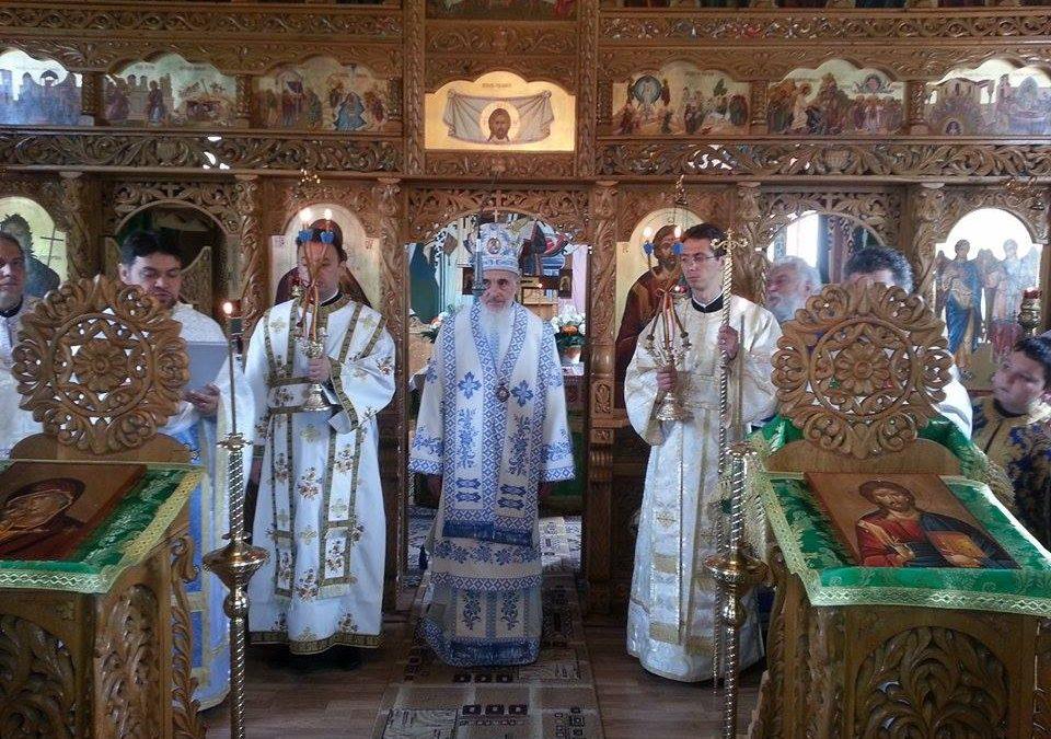 Resfințirea bisericii parohiale din Vălișoara