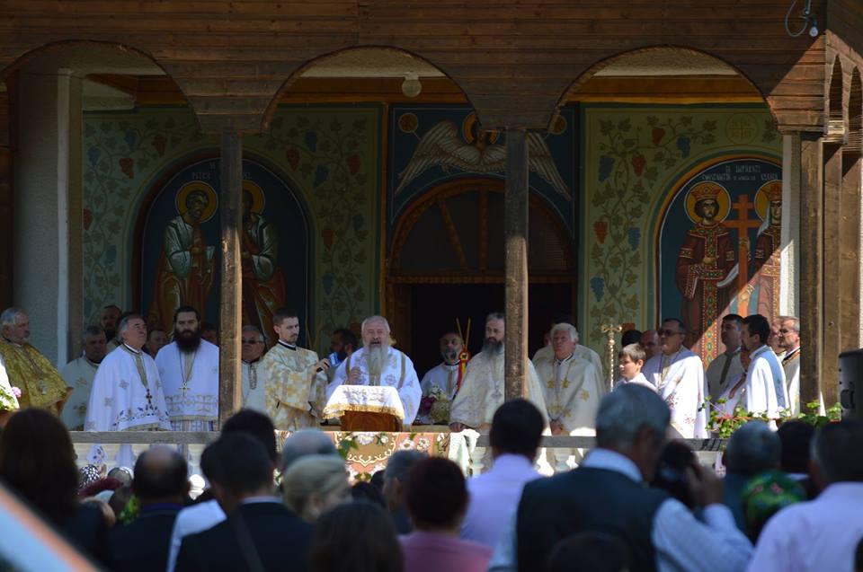 Sărbătoare patronală la Mănăstirea Dobric, județul Bistrița-Năsăud