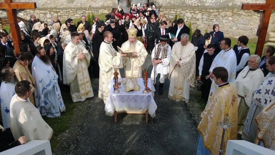 Sfințirea bisericii din cătunul Recele, Parohia Ilva Mare