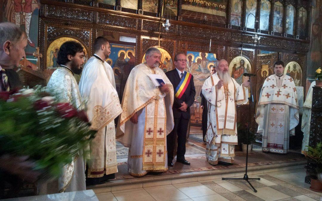 Liturghie Arhierească în Parohia Huedin III, în duminica a 7-a după Paști