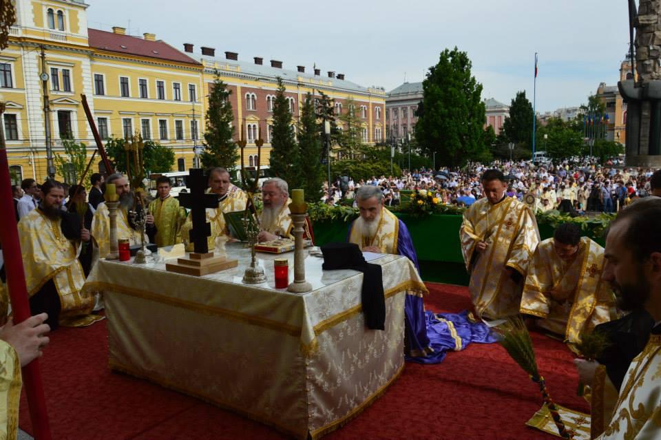 A patra ediție a Procesiunii de Rusalii la Cluj-Napoca