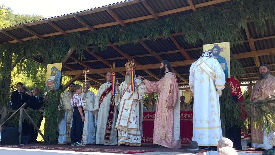 Sărbătoare la ctitoria lui Ștefan cel Mare din localitatea clujeană Vad