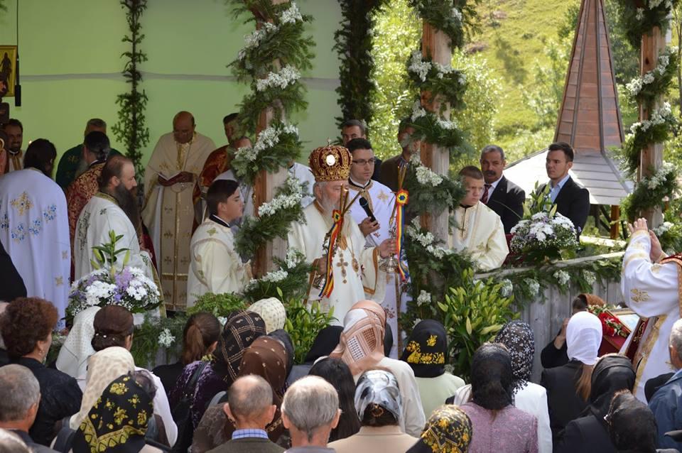 Mitropolitul Clujului, prezent la hramul Mănăstirii Cormaia