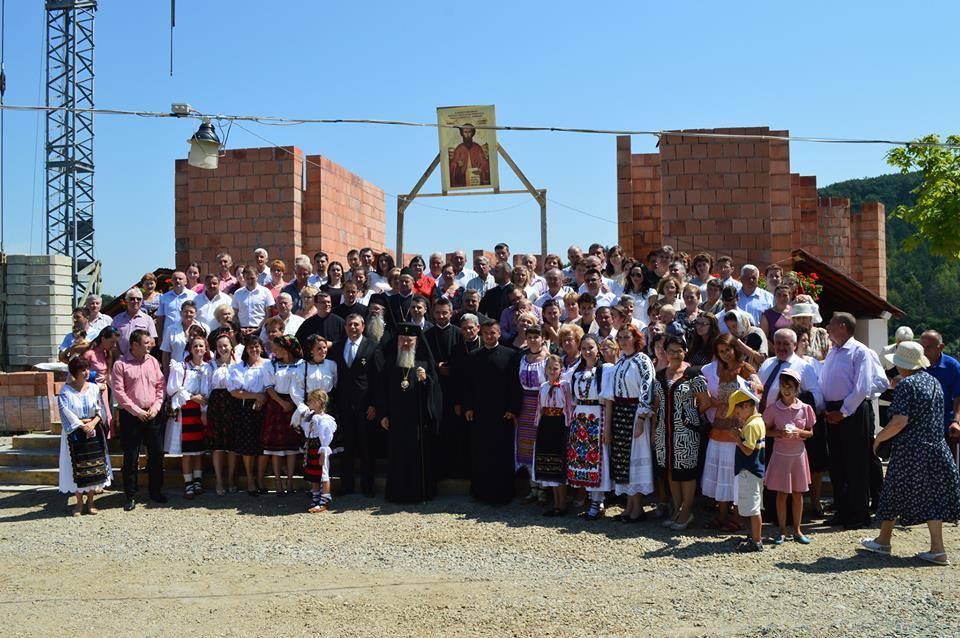 """Hramul festiv al Parohiei """"Sf. Ioan Iacob Hozevitul"""" de pe Valea Gârbăului"""