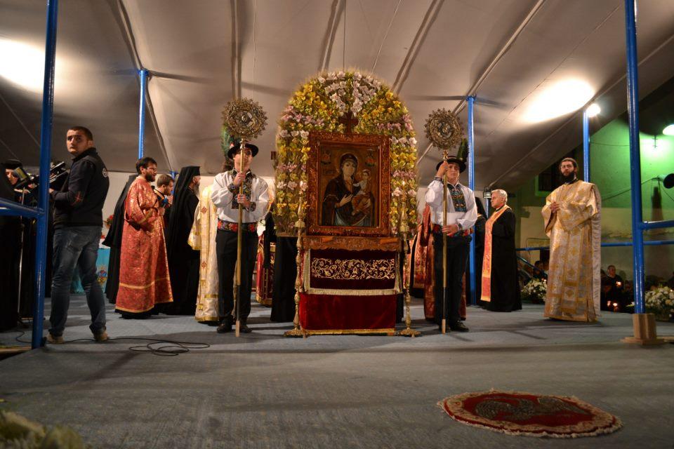 Zeci de mii de credincioși la hramul Mănăstirii Nicula