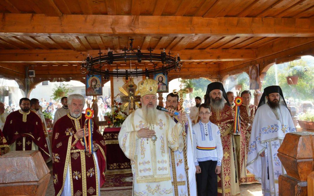 Sărbătoarea Înălțării Sfintei Cruci la Mănăstirea Cășiel din județul Cluj