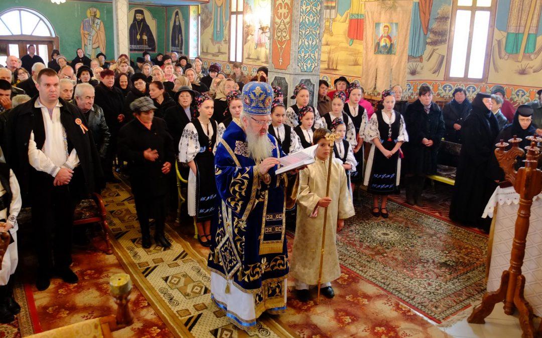 Slujire arhierească în Parohia Ortodoxă Așchileul Mare