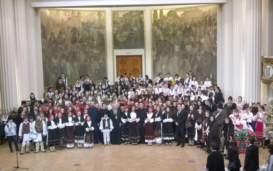 """Festivalul-concurs de colinde și tradiții de Crăciun """"Episcop Nicolae Ivan"""""""