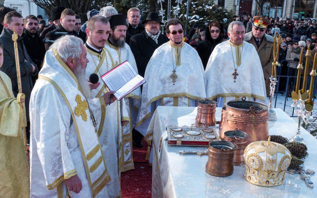 Praznicul Bobotezei, la Catedrala Mitropolitană din Cluj-Napoca