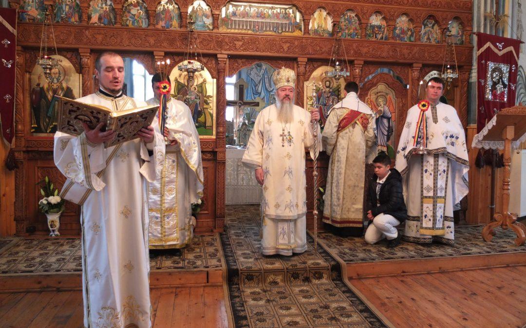 Duminica după Botezul Domnului, în Parohia Gârbău