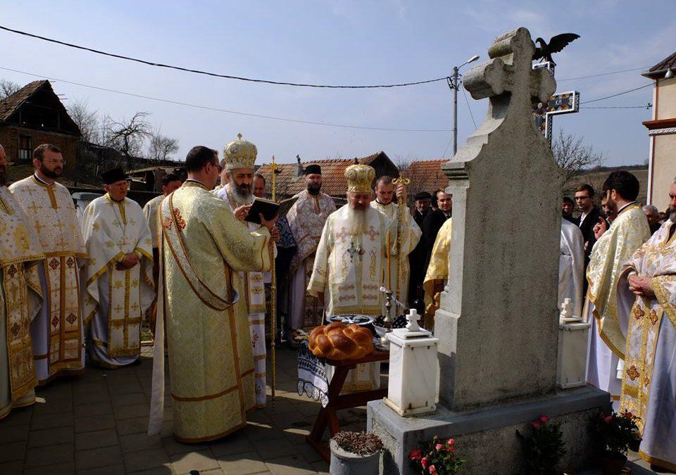 IPS Andrei prezent la comemorarea Episcopului Ioan Mihălțan, la Ohaba