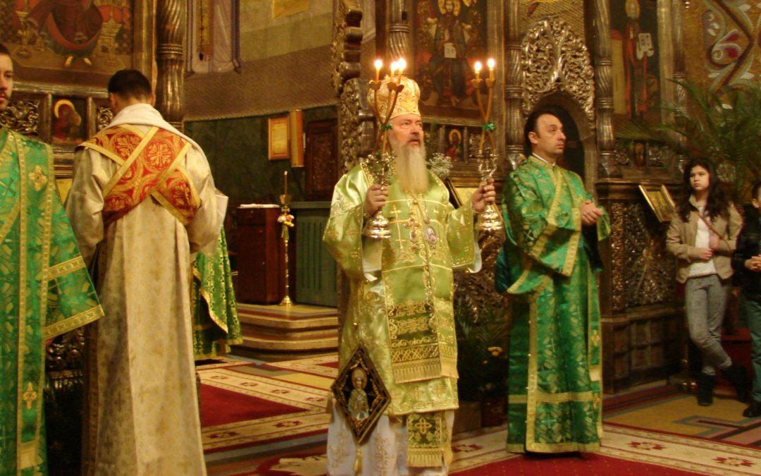 Praznicul Floriilor la Catedrala Mitropolitană din Cluj