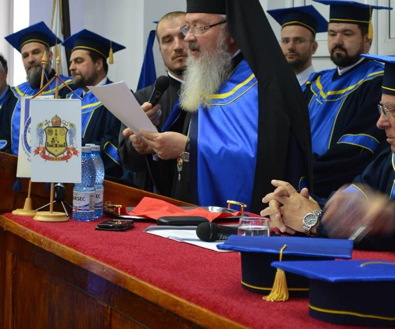 Înaltpreasfinţitul Părinte Andrei, Doctor Honoris Causa al Universității din Alba Iulia