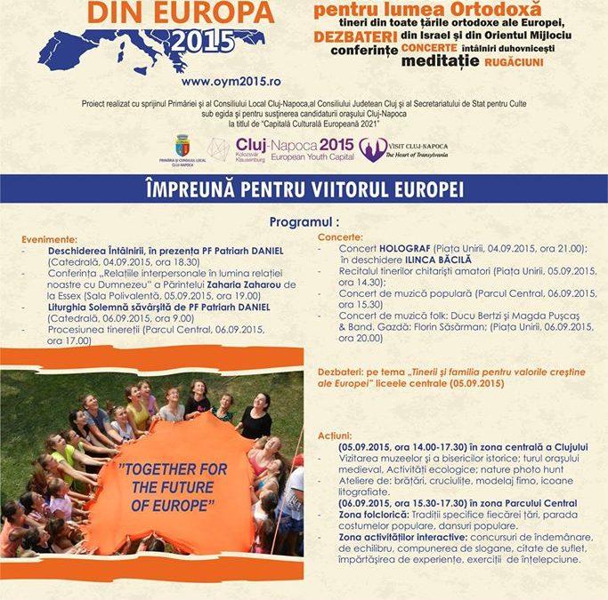 Tinerii ortodocşi, împreună pentru viitorul Europei