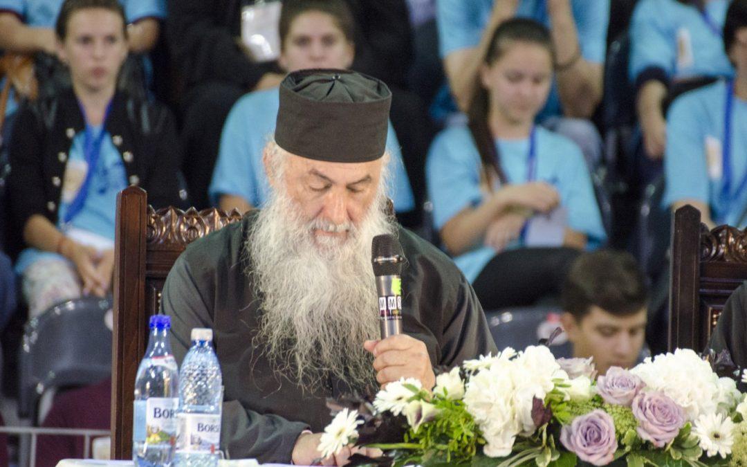 """Zaharia Zaharou: """"Când omul primeşte Cuvântul lui Hristos, Acesta îi reînnoieşte întreaga fiinţă"""""""