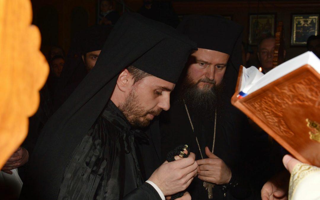Tunderea în monahism Părintelui Benedict Vesa