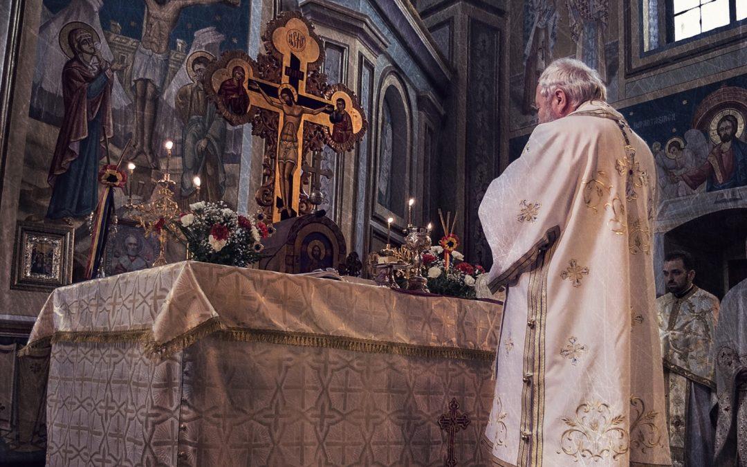 Liturghie arhierească în Sângiorz Băi