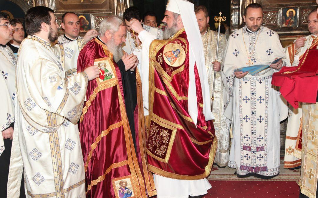 Întronizarea Înaltpreasfințitului Părinte Andrei ca Mitropolit al Clujului
