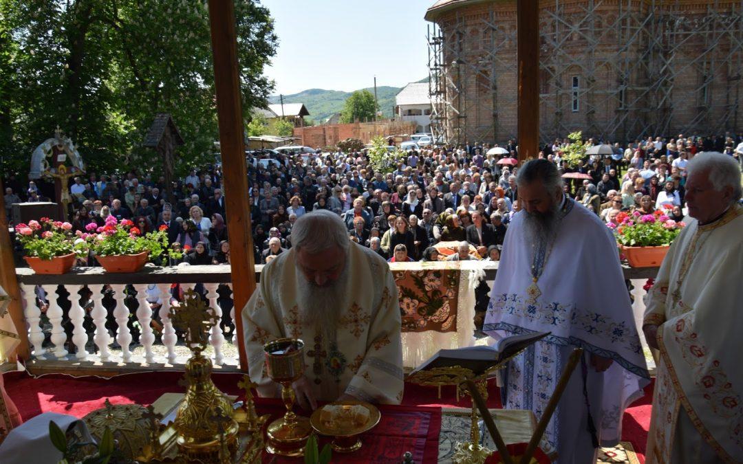 Sfinții Împărați Constantin și Elena sărbătoriți la mănăstirea Dobric