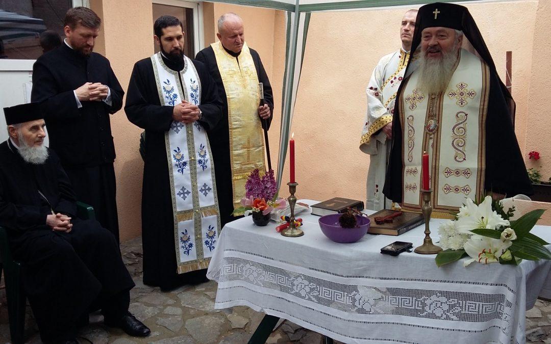 """Noul sediu al programului """"Sfântul Dimitrie Basarabov"""", inaugurat în prezența Mitropolitului Andrei"""