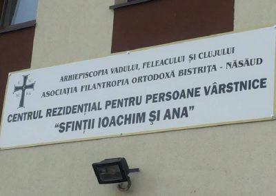 Centrul Rezidențial pentru Persoane Vârstnice Sfinții Ioachim și Ana, Cușma